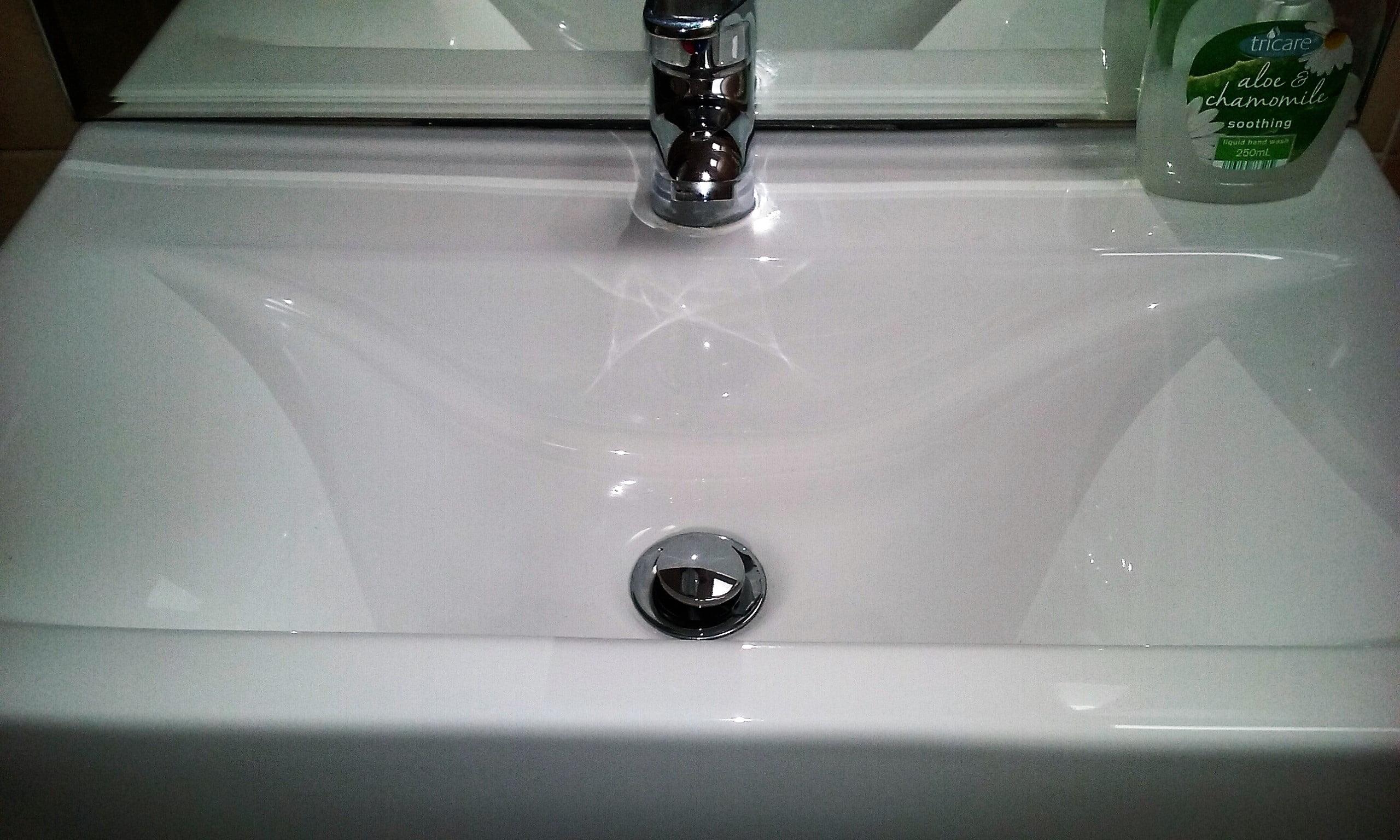 clean basin