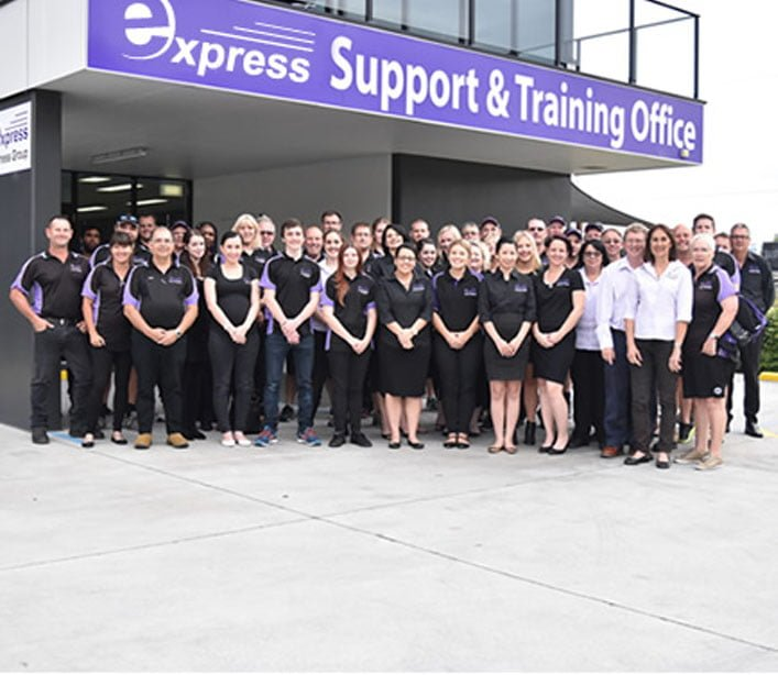 express head office staff